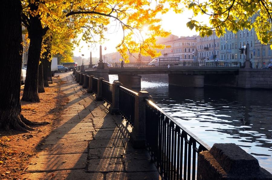 Осень в Северной столице