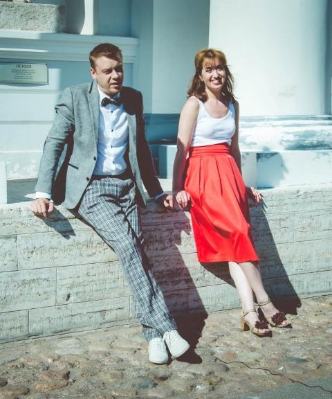Жанна и Евгений