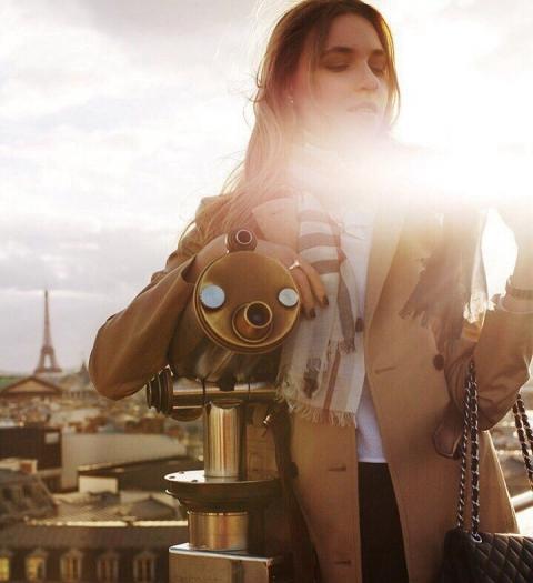 Над крышами Парижа…