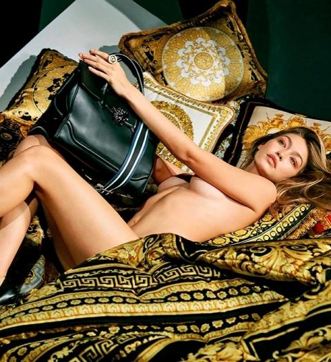 Versace раздел Джиджи Хадид