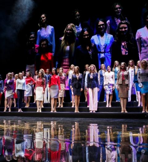 Титул «Мисс Офис-2017» и 1 000 000 рублей уехал в Крым