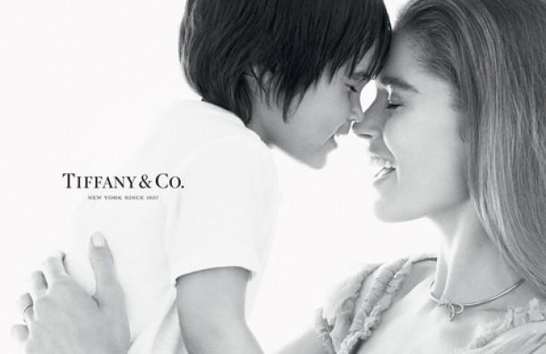 В рекламе от «Tiffany & Co» снималась восхитительная Даутцен Крез со своим очаровательным сыном