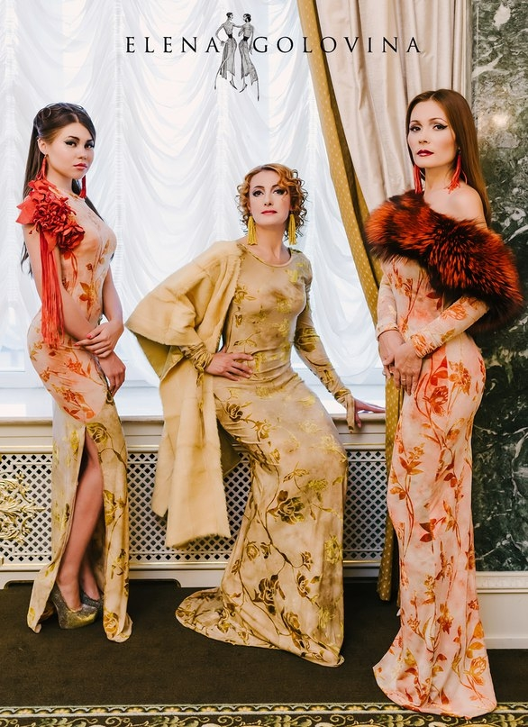 Фото: Владимира Борелье Из личного архива модельера Елены Головиной  (Королева Осень 2015)