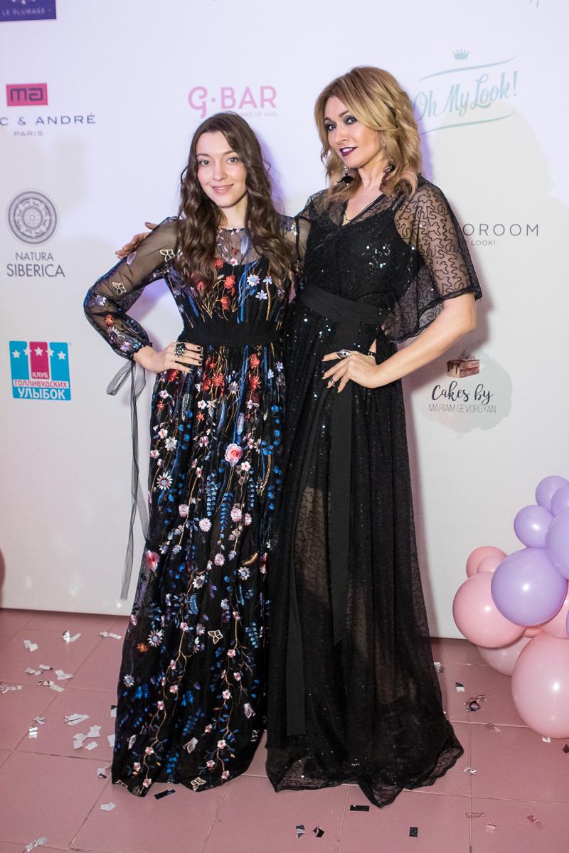 Анжелика Агурбаш с дочерью