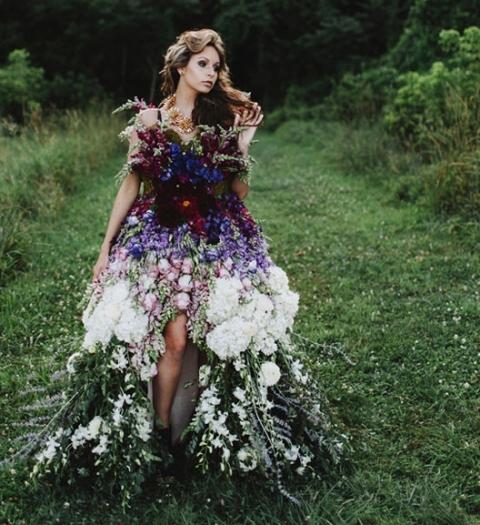 Платье с весенней легкостью